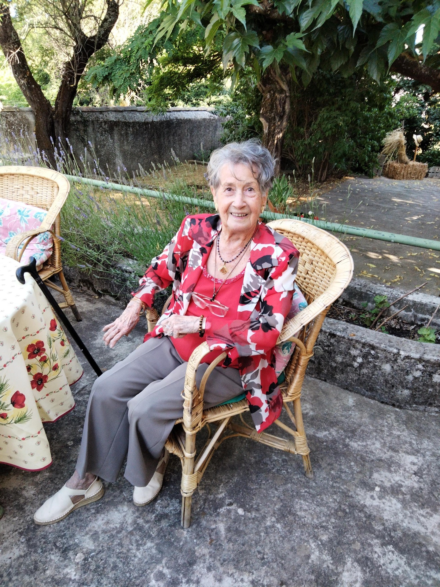 Luciana Porte-Marrou lo  22 06 2021 (100 ans)